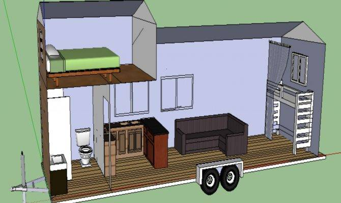 Tiny House Trailer Plans Modern Plan