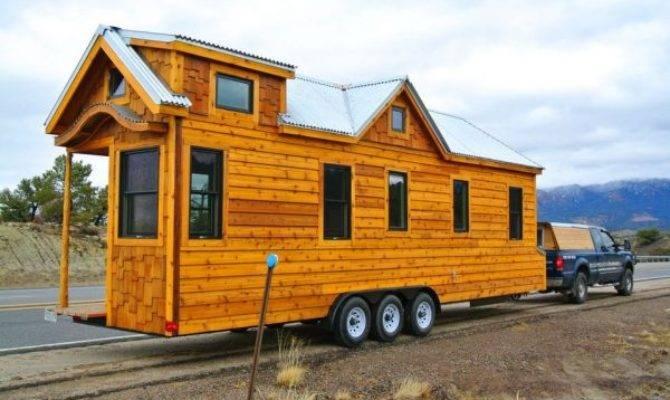 Tiny House Wheels Rocky Mountain Houses