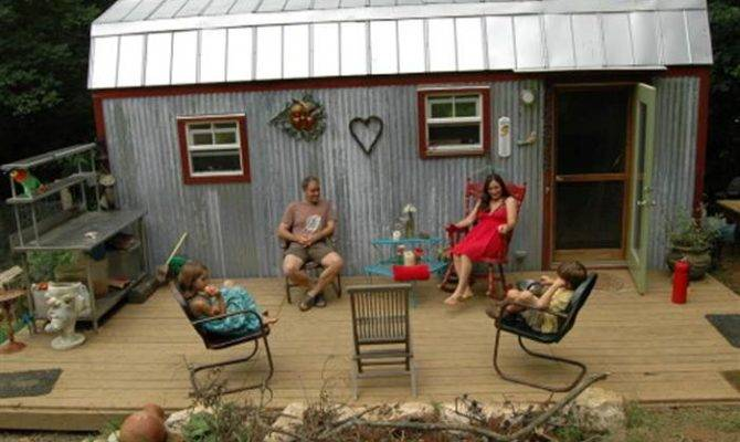 Tiny Houses Big Lives Families Make Small Spaces