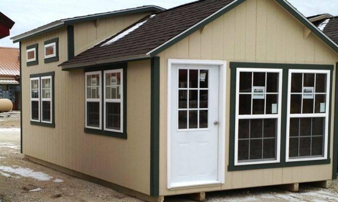 Tiny Houses Portable Buildings Storage Sheds
