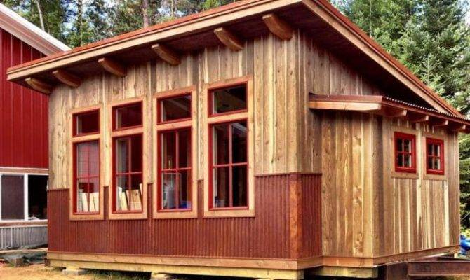 Tiny Houses Small Spaces Cabin Lots Windows