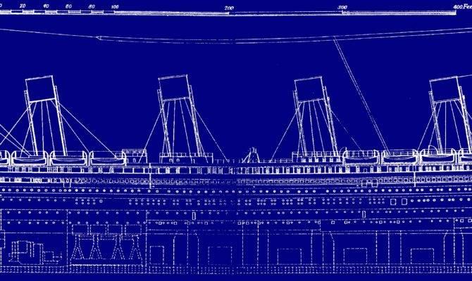 Titanic Original Plans Wikimedia Commons