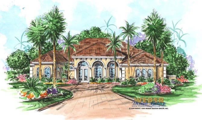 Tobago Cay House Plan Caribbean Weber Design Group