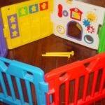 Todays Kids Play Yard Pen Gate Baby Toddler Activity Center