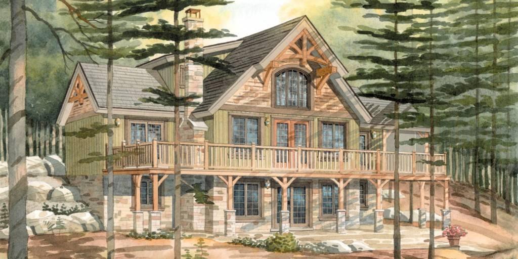 Top Normerica Custom Timber Frame Home Designs