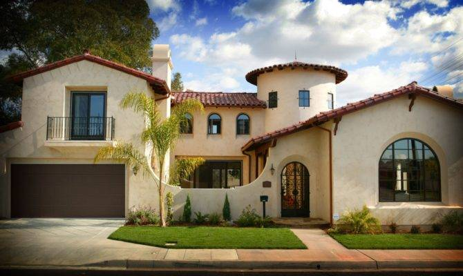 Top Spanish Style Homes Los Angeles