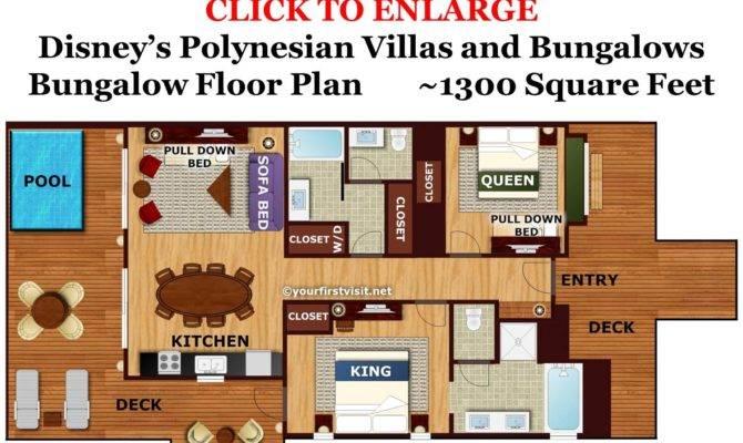Tour Bungalow Disney Polynesian Village