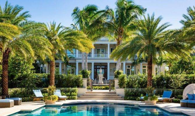 Tour Exquisite Palm Beach Mansion Just Sold