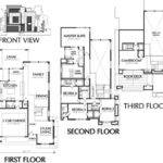Town House Plans Modern Luxury Townhouse Floor