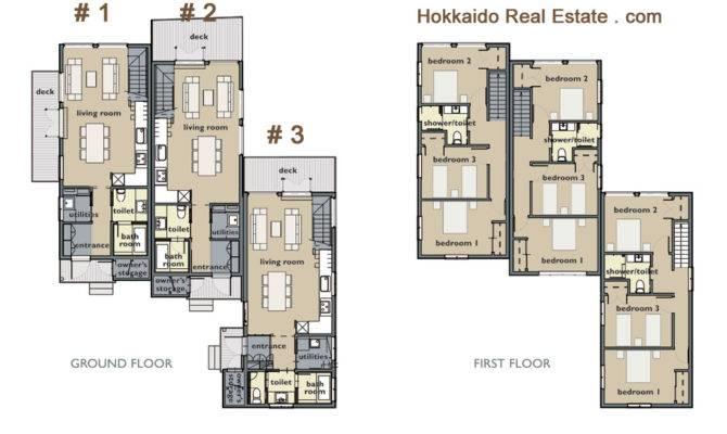 Townhouse Floor Plans Garage