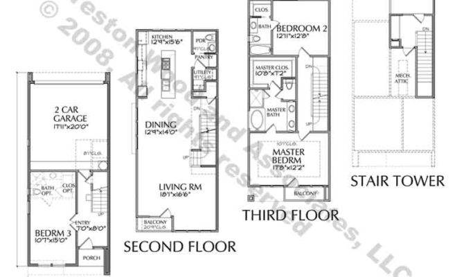 Townhouse Plans House Style