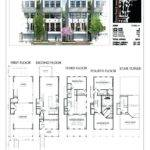 Townhouse Plans Town House Modern Pretty Inspiration Small