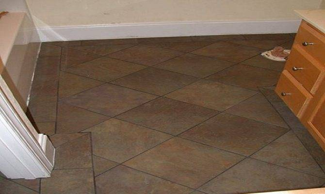 Traditional Bathroom Tile Flooring Floor