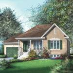 Traditional Bungalow House Plan Floor