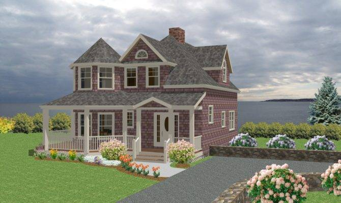 Traditional Cottage House Plan Bedrooms