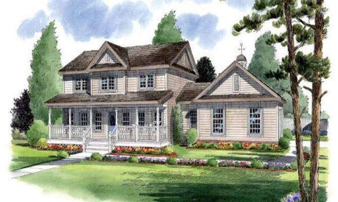 Traditional Country Farmhouse House Plans Farm
