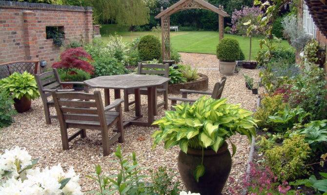 Traditional Courtyard Garden Design Style Planting Plans Paul