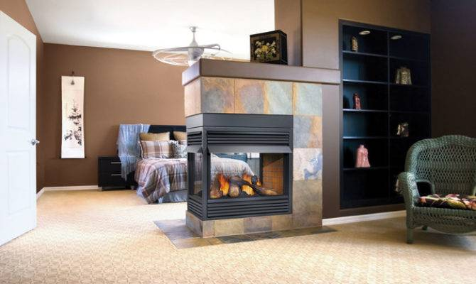 Traditional Gas Fireplaces Bedroom