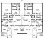 Traditional House Plan First Floor Plans More