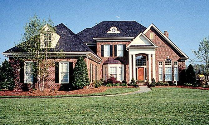 Traditional House Plan Grand Front Porch