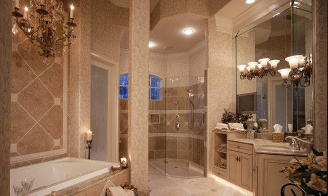 Traditional House Plan Master Bathroom