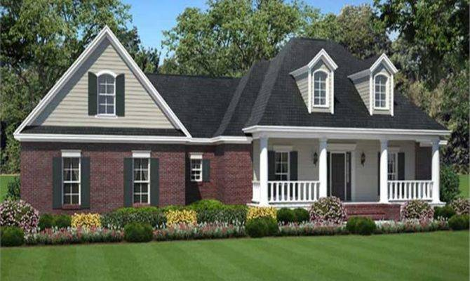 Traditional House Plans Front Porch