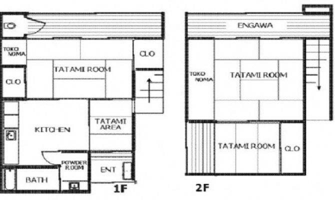 Traditional Japanese House Floor Plan Vipp