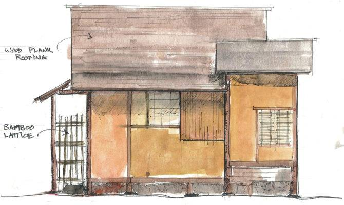 Traditional Japanese House Plans Style