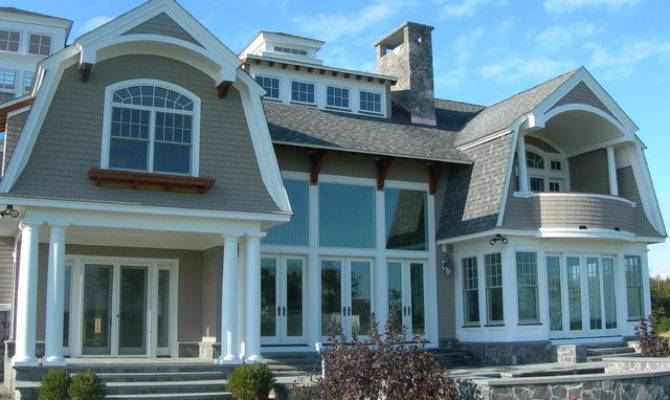 Traditional New England Style Homes Beach
