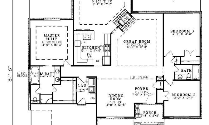 Traditional Ranch House Floor Plans Design