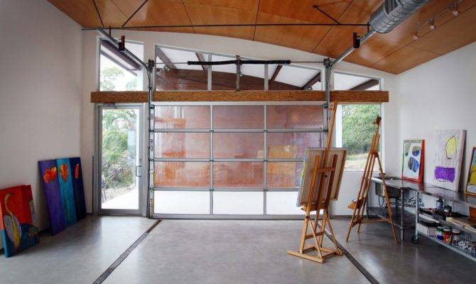 Transform Your Garage Into Home Office Haven Sayeh Pezeshki
