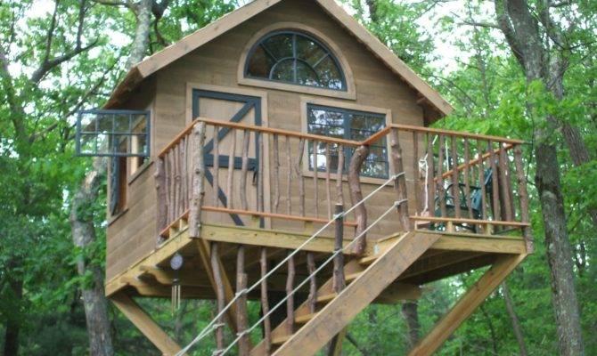 Tree Houses Play Around World Plans