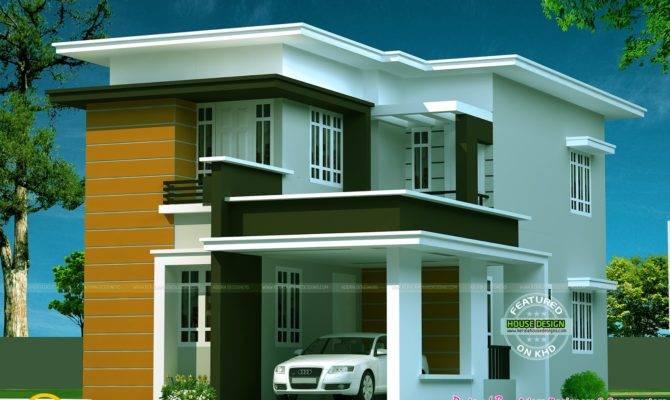Trending Flat Roof Modern House