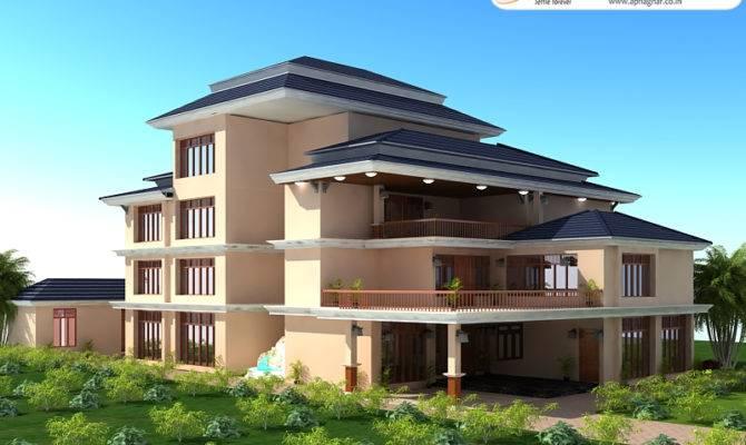 Triplex House Design Apnaghar