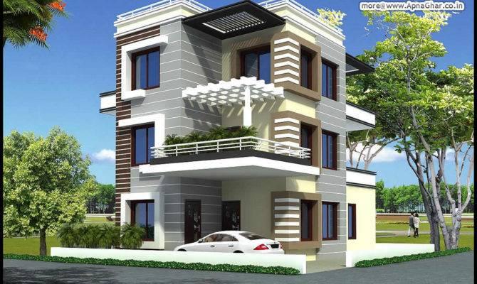 Triplex House Design Bedrooms