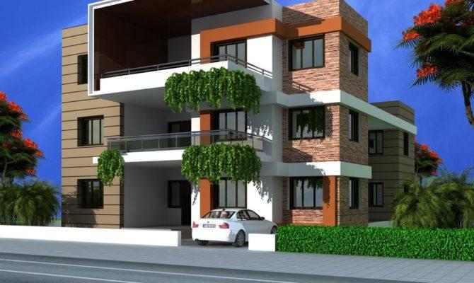 Triplex House Design
