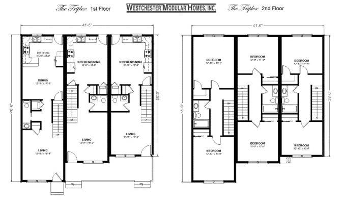 Triplex Plan Duplex Plans House Apartment