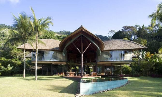 Tropical Beach House Plans Home Design Planning
