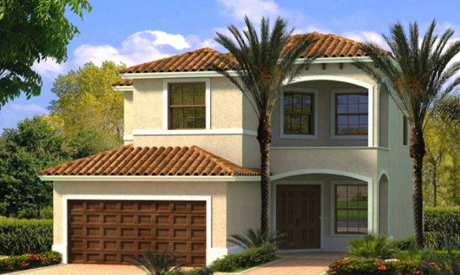 Tropical Hill Florida Home Plan House Plans
