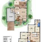 Tropical Home Plan Floor Plans