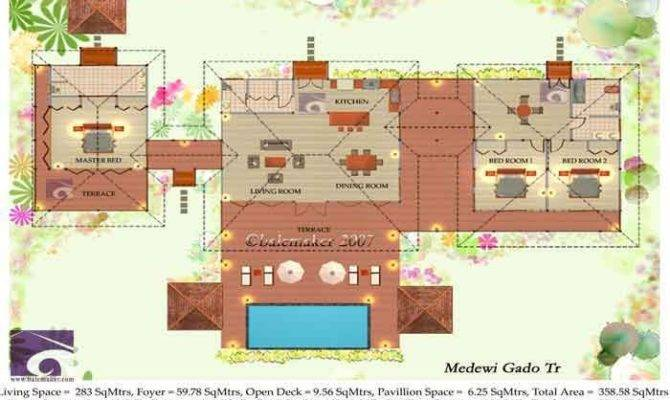 Tropical House Plans Escortsea