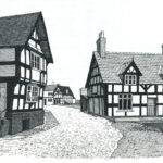 Tudor House Drawings Pinterest