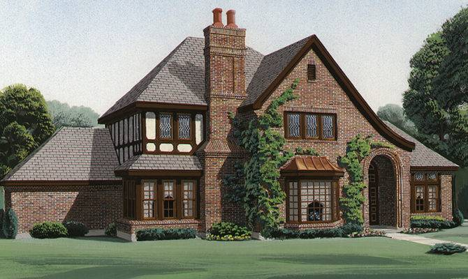 Tudor House Plans Designs Builderhouseplans