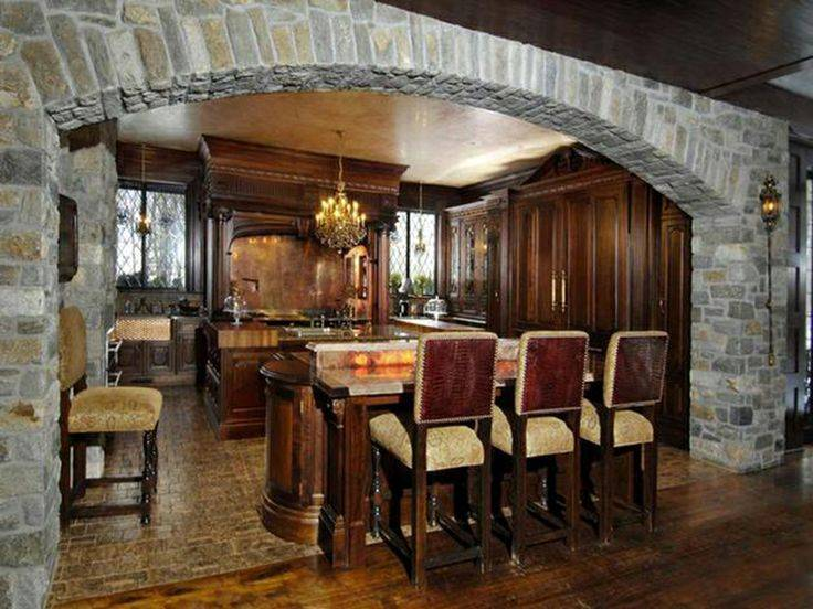 Tudor Style Kitchen Home Interior Design Ideas