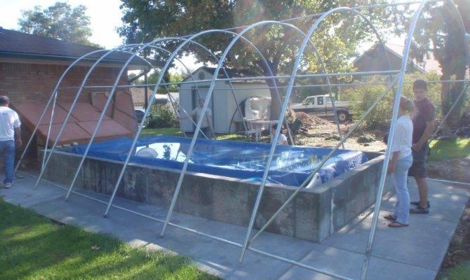 Turn Outdoor Swimming Pool Into Indoor
