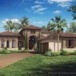 Tuscan House Plans Single Story Eplans Mediterranean Modern Plan