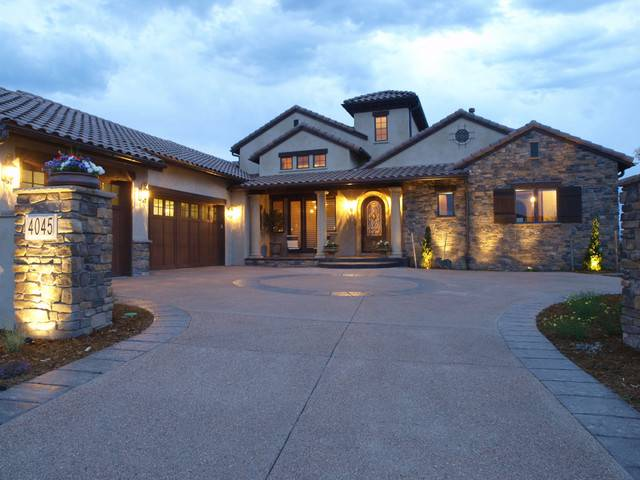 Tuscan Mission Style Custom Homes