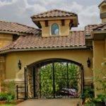 Tuscan Port Cochere Home Design Porte Porticos Pinterest
