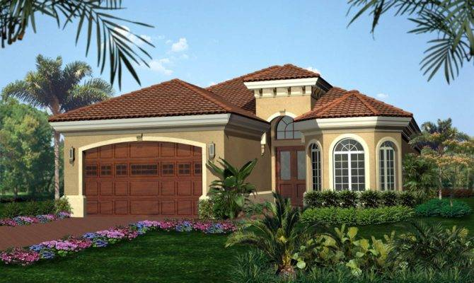 Tuscan Style House Plan Architectural Designs
