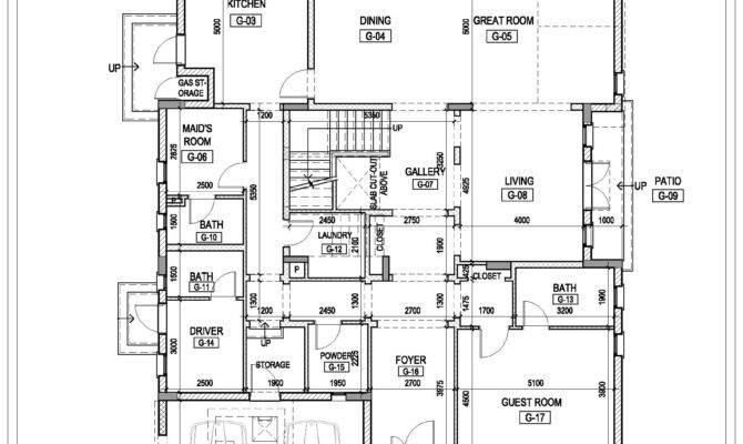 Twin Villas Design Floor Plan Abu Dhabi Joy Studio